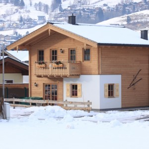 Außenansicht Ferienhaus Winter