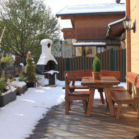 Terrasse Outdoor Winterzauber