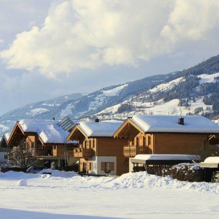 Umgebung AlpenChaletSalzburg Winter in Niedernsill