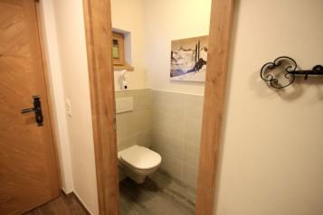 separates WC im Erdgeschoss
